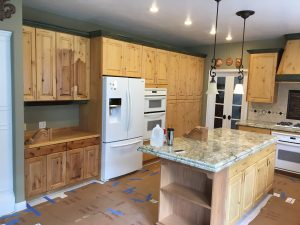 cabinet refinishing in ogden utah before