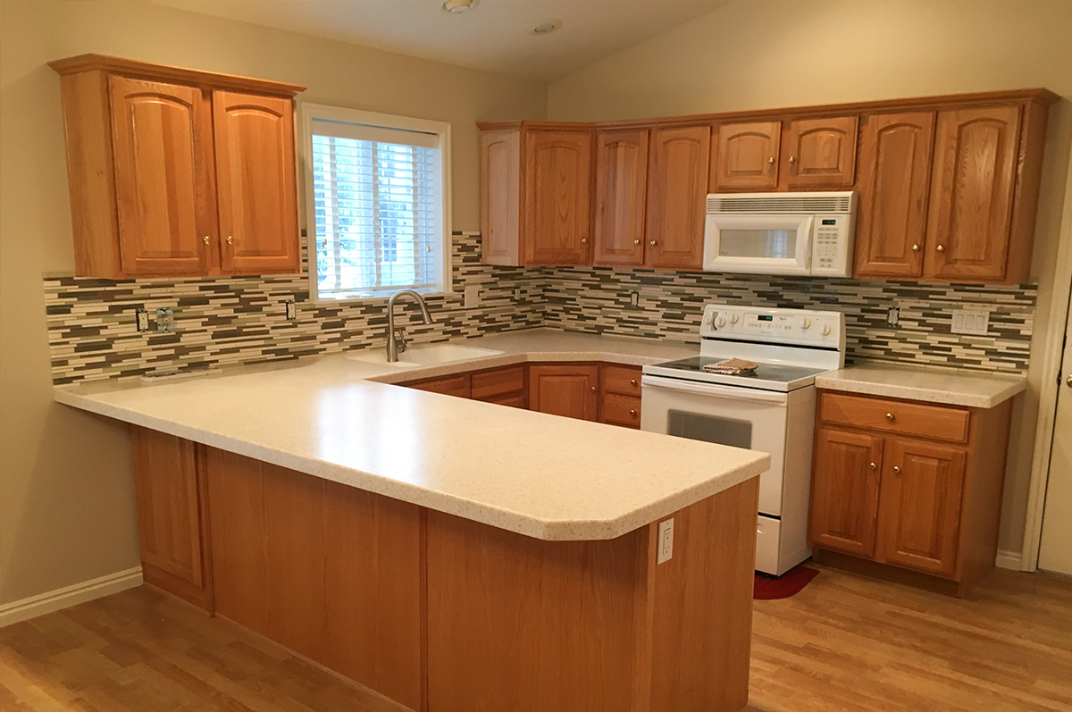 kitchen cabinet refinishing centerville