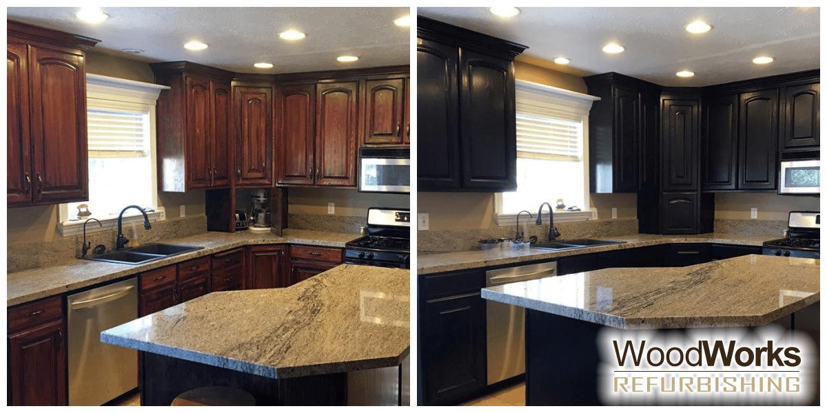 Cabinet Refinishing in Salt Lake City | Woodworks Refurbishing