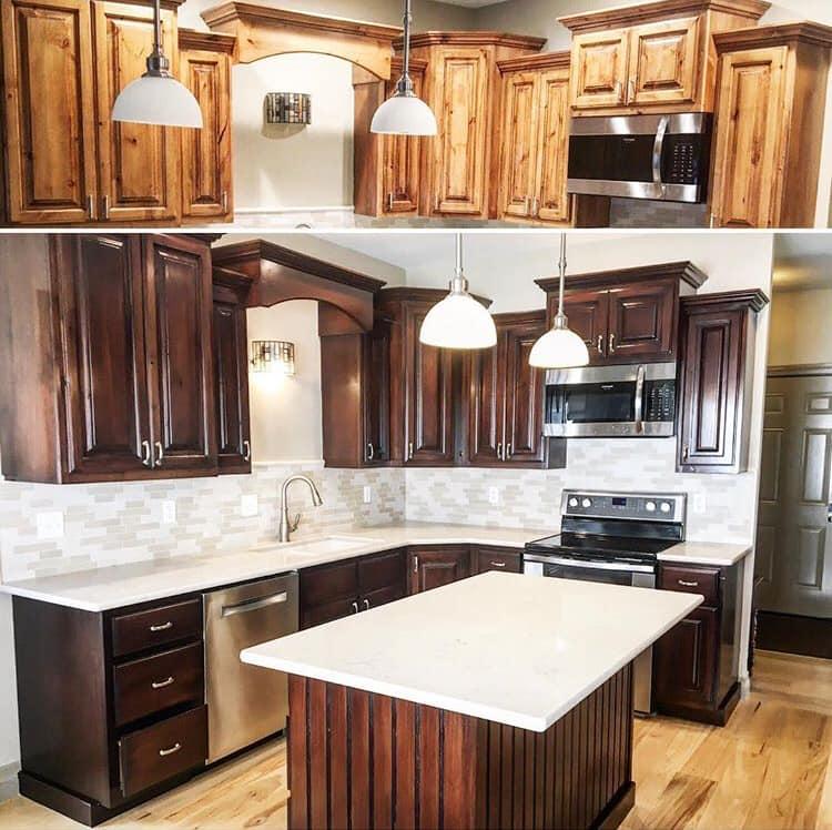 Refurbish Kitchen Cabinets: Cabinet Refinishing Clearfield
